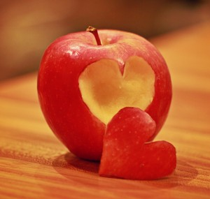 apple hearts