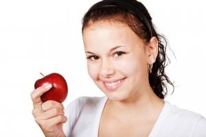 apple smile