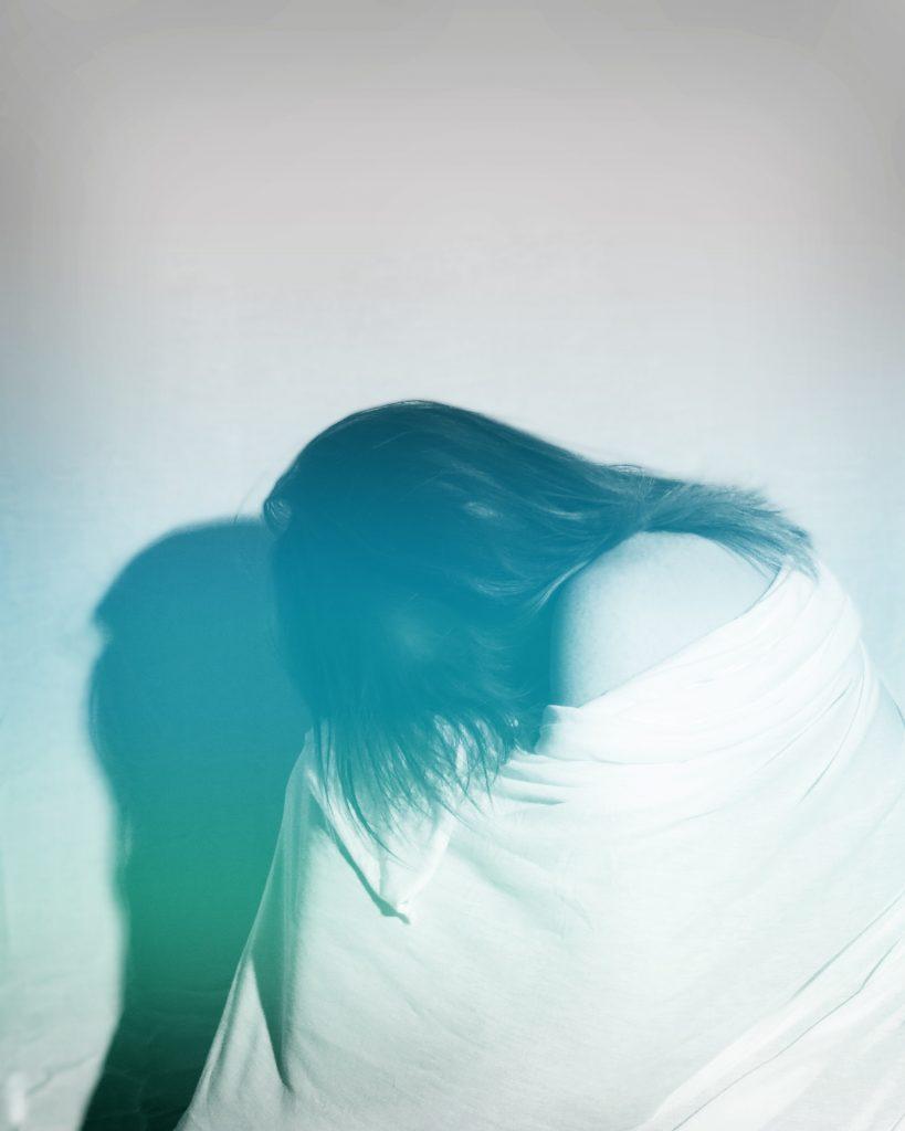 depressed person